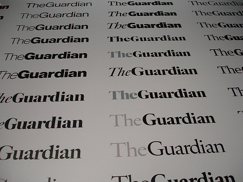 Guardian newspaper unveils new font and logo as part of major redesign
